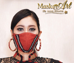 Masker Art Bimasena   II   Please chat WA for availability