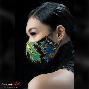 Masker Art PRADA   II   Please chat WA for availability