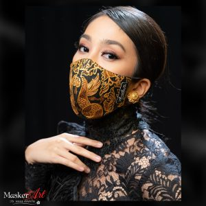 Masker Art BURUNG PRADA   II  Please chat WA for availability