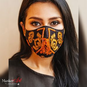 Masker Art ETNIK   II   Please chat WA for availability