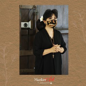 Masker Art BUNDA 20   II   Please chat WA for availability