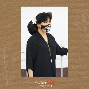 Masker Art BUNDA 19   II  Please chat WA for availability