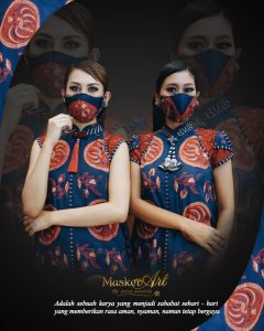 Dress Dewi Rawana & Masker Art   II   Start From